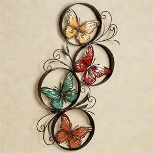 butterfly jubilee metal wall