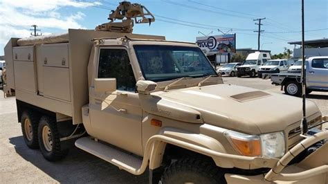 military land cruiser vdj78 toyota land cruiser military truck with roof mount