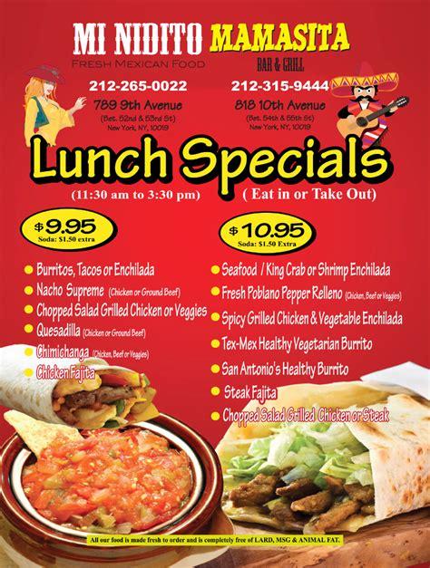 special ideas dinner specials ideas for restaurants