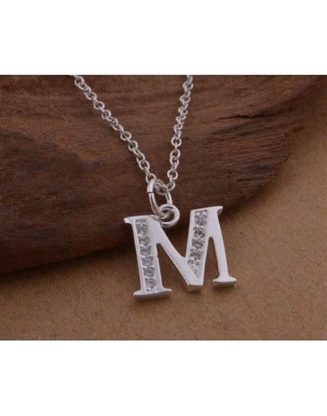 colgantes con iniciales colgantes con letras colgantes - Cadenas De Plata Con Iniciales Precio