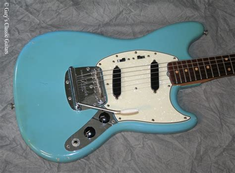 fender mustang neck for sale fender mustang 1964 blue guitar for sale garys classic guitars