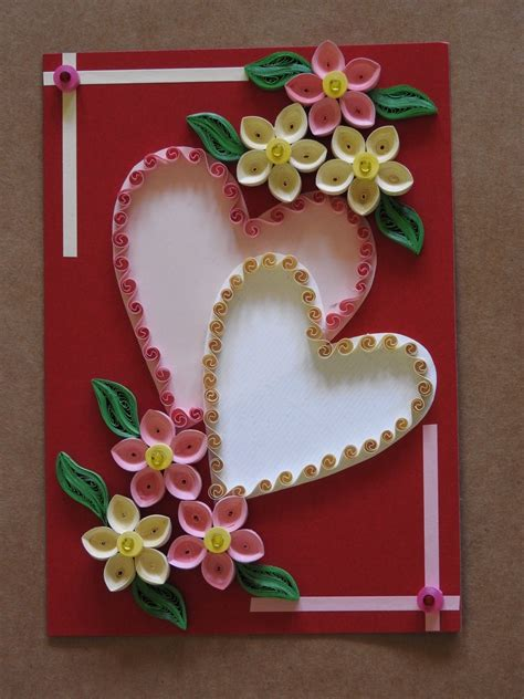 How To Make Paper Quilling Greeting Cards - buy paper quilling greeting cards in india