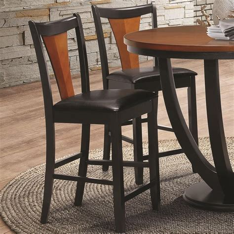 Coaster Furniture Bar Stools by Coaster Boyer 102099 Contemporary Two Tone Bar Stool