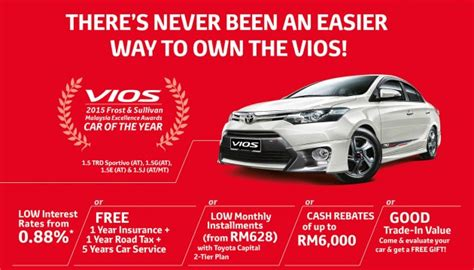 toyota new year promotion 2015 umw toyota motor offers five reasons to buy a vios