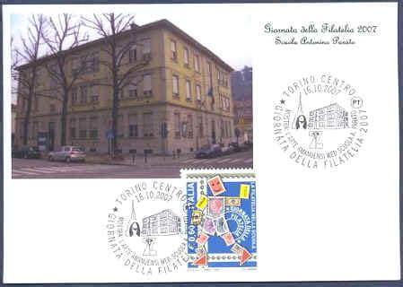 ufficio postale gorgonzola progetto scuola la giornata della filatelia 2007