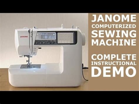 Learn how to sew large fonts on a Brother sewing machin