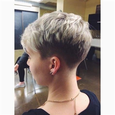 undercut hairstyles for older women short hair undercut 2015 21 stylish pixie haircuts short