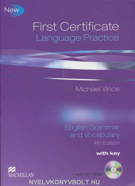language practice new edition new first certificate language practice 4th edition english grammar and vocabulary with key