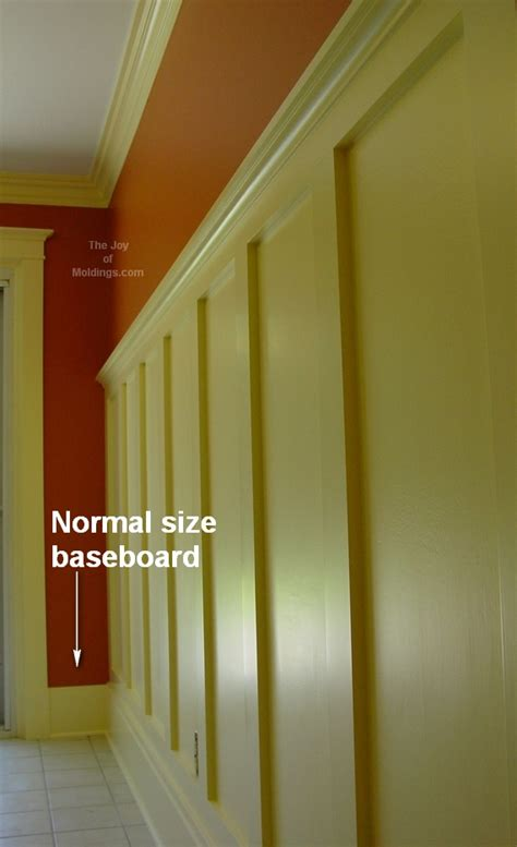 transition wainscoting baseboard door trim joy moldings