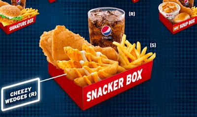 harga super jimat box kfc senarai harga makanan  malaysia