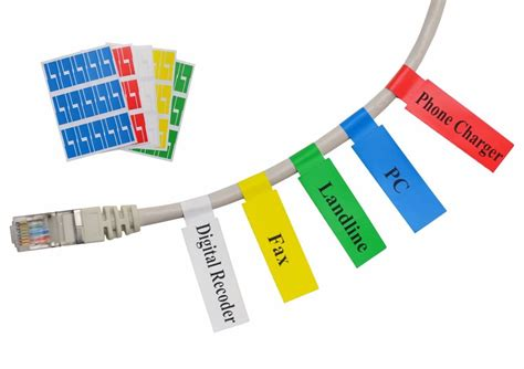 wire labels 600 waterproof cable label wire marker tag tie sticker
