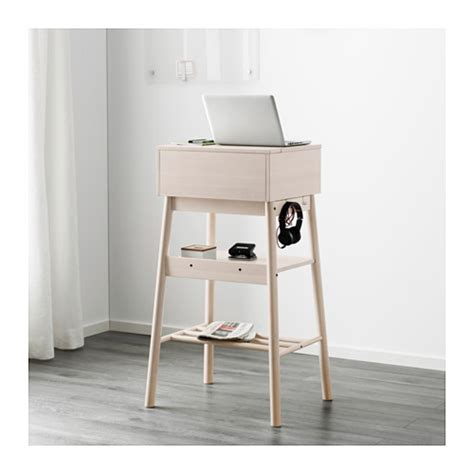 standing up desk ikea knotten standing desk white birch ikea
