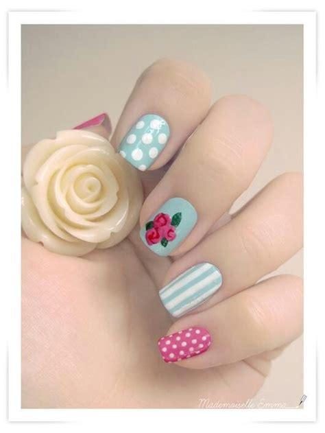 Shabby Chic Nail Designs