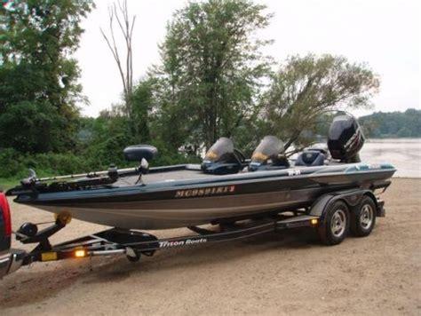 fishing boat for sale mi 2000 triton tr21 fishing boat for sale in colon mi