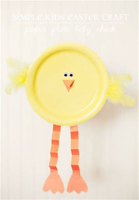 Easter Crafts With Paper Plates - preschool crafts for easy paper plate easter