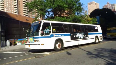 ferry bound video nyc bus s ferry bound rts 06 9470 m20 at chambers st west