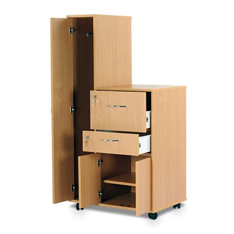 Wardrobe And Cupboard by Bristol Beech Bedside Cabinet With Left Wardrobe