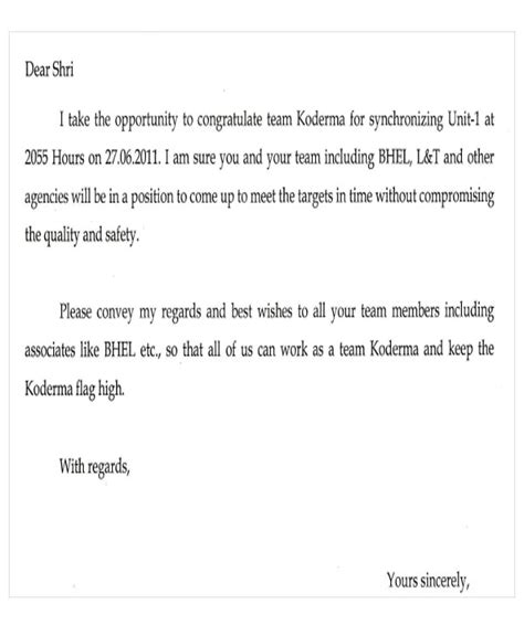 appreciation letter to marketing team appreciation letter templates 5 free sle exle