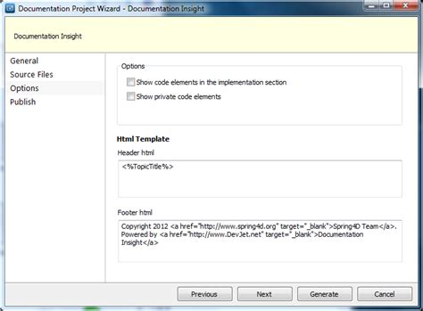 How To Generate Documentation From Delphi Source Code Template Code