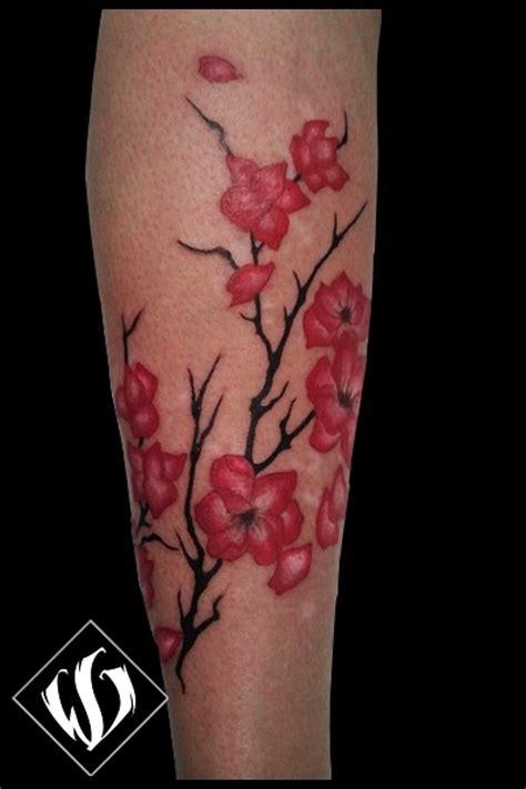 tatuaggio ramo fiori di ciliegio gallery fiori