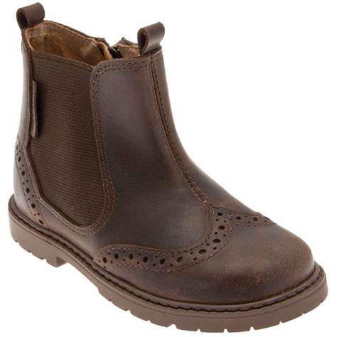 boys leather boots startrite digby leather boots boys charles clinkard