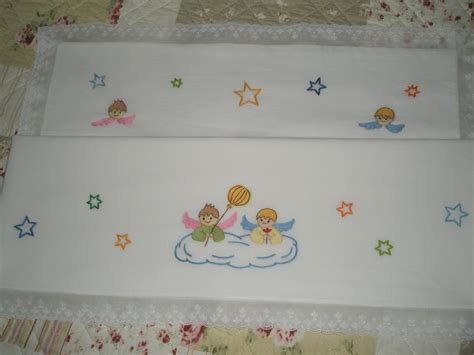sabanitas bordadas para bebe como hacer sabanitas para beb 233 bordadas imagui