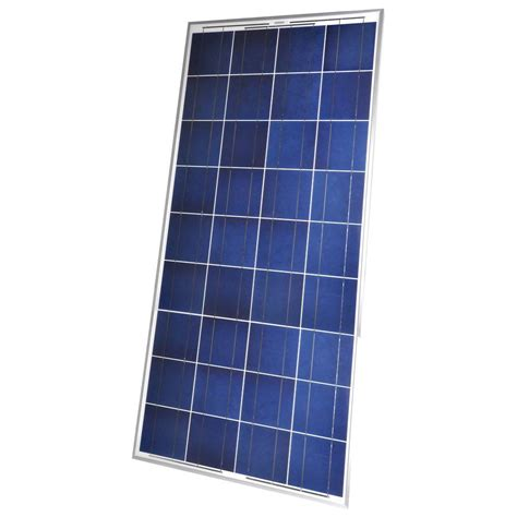 coleman 150 watt crystalline solar panel 38150 the home