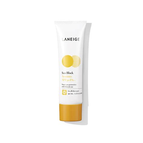 Laneige Sunblock sun block sensitive spf 30 pa laneige