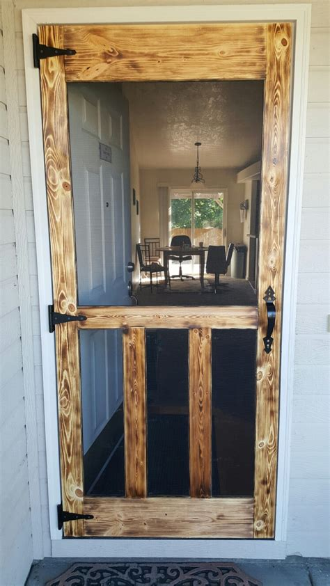 Diy Patio Doors 18 Diy Screen Door Ideas Live Diy Ideas