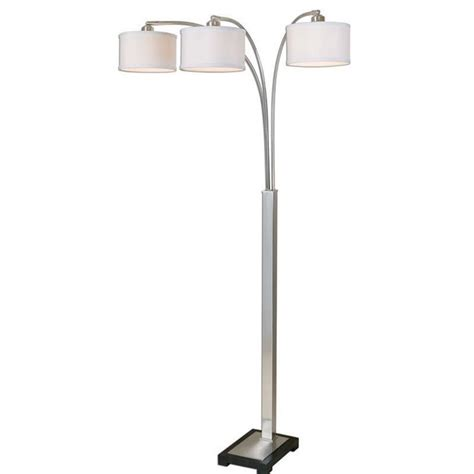 Nickel Floor L Uttermost Bradenton Nickel 3 Light Floor L 28641 1