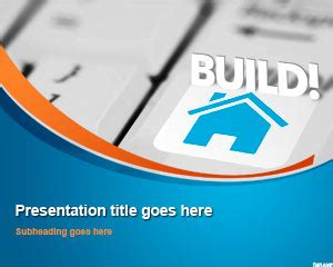 ppt templates for loan house real estate powerpoint template for presentations on