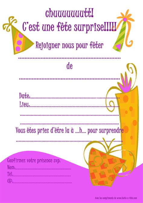 Exemple De Lettre D Invitation A Une Fete Invitations