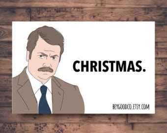 ron swanson ugly sweater printable thank you card dj khaled i appreciate you by beygoodco