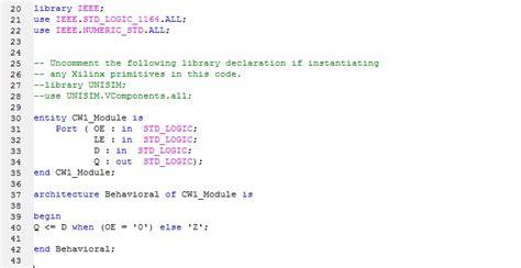 Xilinx Offer Letter vhdl homework help