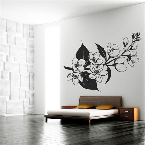 flower wall stickers uk wallstickers folies flower wall stickers