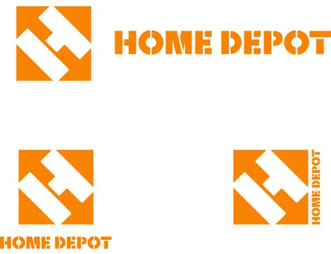 april fools home depot s home improvement logo design