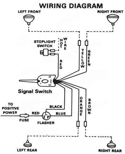 turn signal wiring diagram for 7 wire wiring diagram