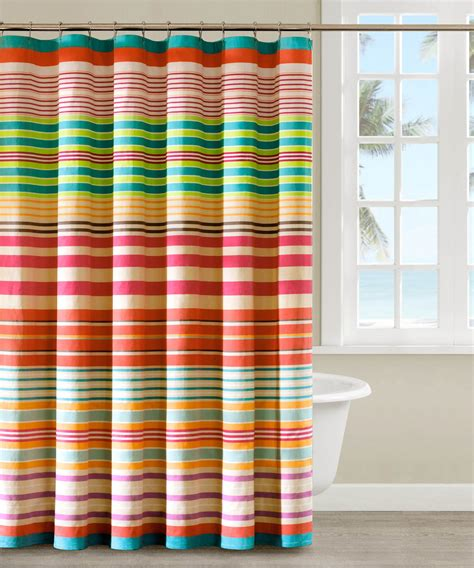 Colorful Drapes Curtains Colorful Printed Shower Curtain Draping Ideas