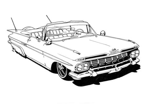 Lowrider Coloring Pages donutchocula lowrider coloring book