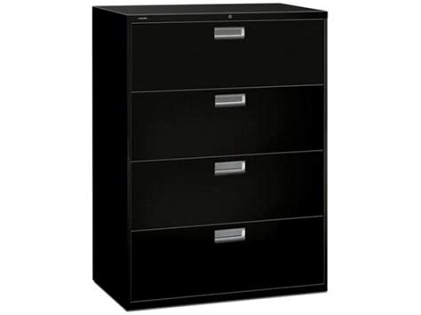 Hon 4 Drawer Lateral File Cabinet by 600 Series 4 Drawer Lateral File Cabinet Hon 694 Metal