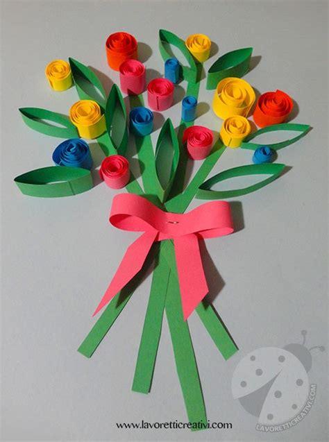 fiori per la festa della mamma lavoretto semplice per la festa della mamma lavoretti