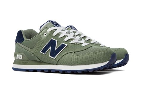 New Balance 574 Motif For new balance 574 pique polo green sneaker bar detroit