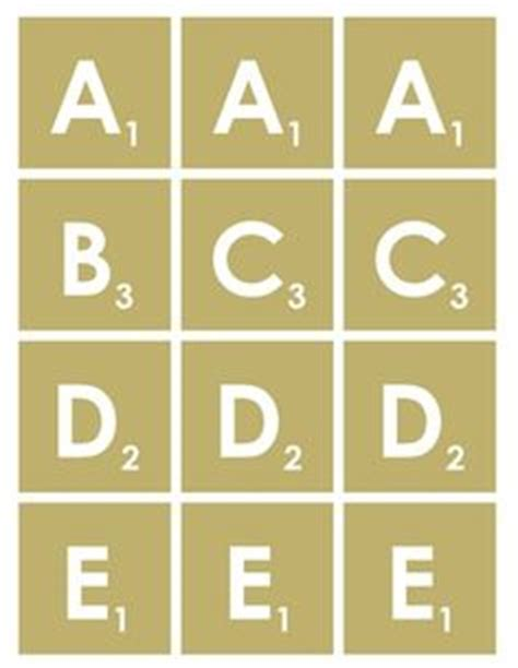 scrabble letter template free printable scrabble letters templates and printables