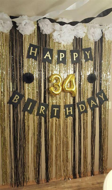 Decoración para cumpleaños numero 30   hombre   Decoracion