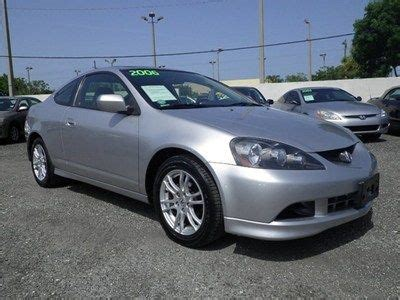 acura rsx mpg purchase used 2006 acura rsx 2 0l auto leather silver