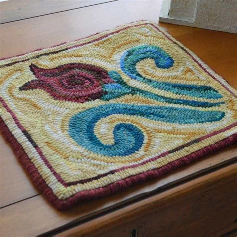 contemporary rug hooking patterns seaside rug hooking patterns and kits