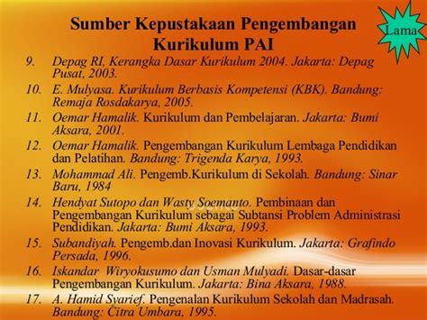 Pengembangan Kurikulum Teori Dan Praktek Nana Syaodih S 01 materi pembuka pengm kurikulum pai