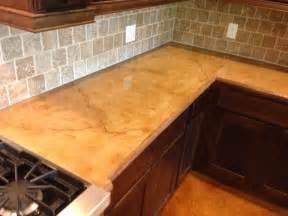 concrete installer discovers concrete countertops