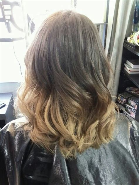 ombre mid length hair medium length ombre kool hairspirations pinterest