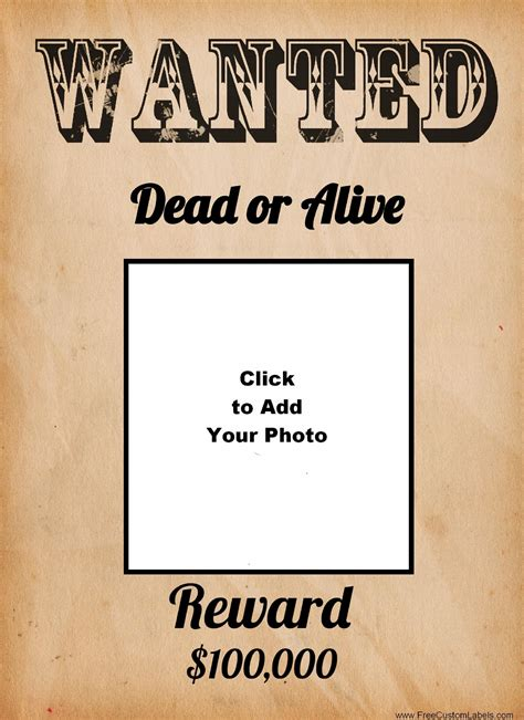 fbi tattoo policy wanted poster template design bild